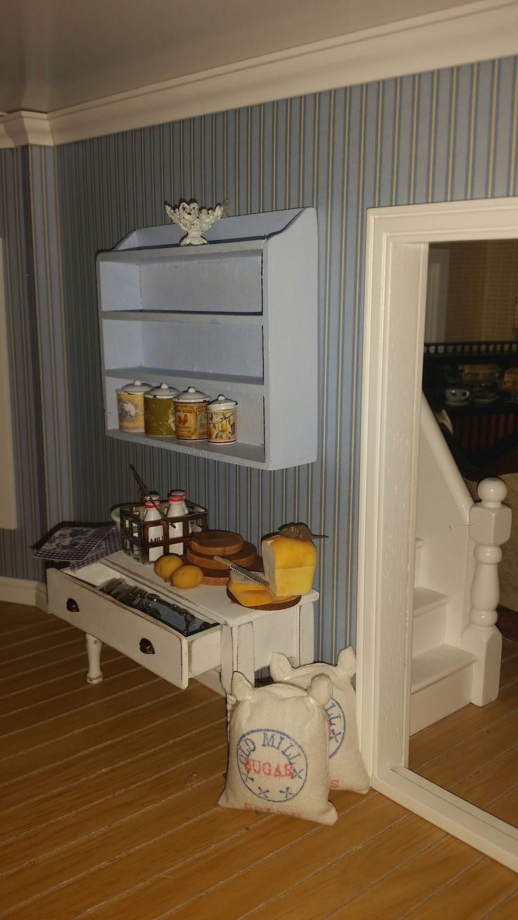 107 best dollhouse kitchen dining room images on pinterest