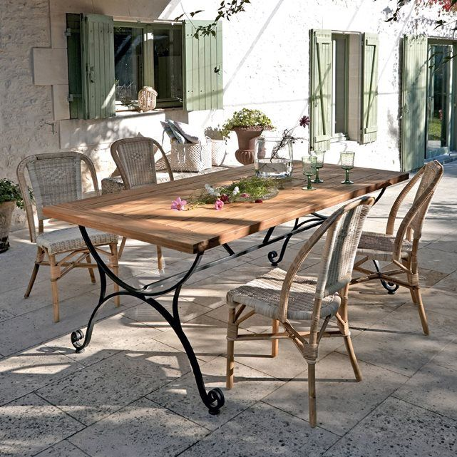 25 best ideas about table fer forg on pinterest meuble fer forg table b - Table de jardin fer forge ...