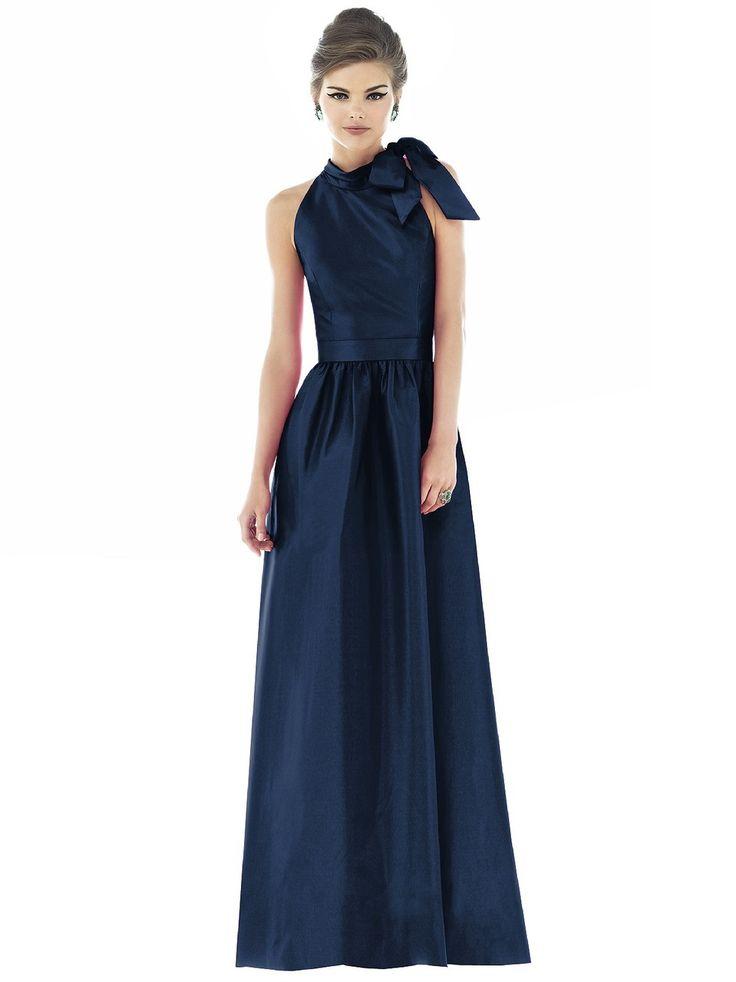 Alfred Sung Bridesmaid Dress Style - D535 | Blush Bridal