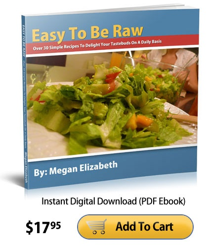 13 best easy to be raw megan elizabeth images on pinterest easy to be raw over 30 simple raw food recipes by megan elizabeth forumfinder