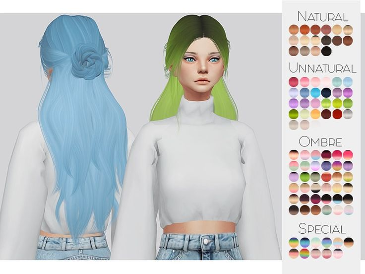 The Sims Resource: LeahLillith`s Renaissance hair retextured by Kalewa-a - Sims 4 Hairs - http://sims4hairs.com/the-sims-resource-leahlilliths-renaissance-hair-retextured-by-kalewa-a/