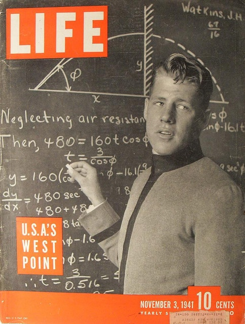 1941 LIFE MAGAZINE Cover Vintage West Point Cadet WORLD WAR 2 Military by Christian Montone, via Flickr