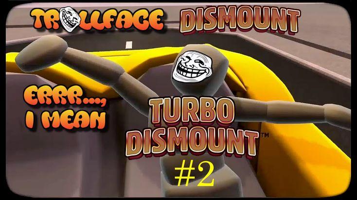 Fun with Trollface, err..., Turbo Dismount! |#2 |Trollface & the FFFFFFU...