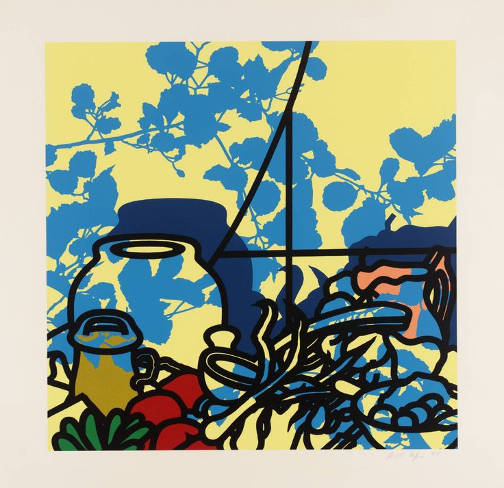This might just be the starting point for my Final Major Project - I had two buzz words: shadows and lines... and look at this beautiful Patrick Caulfeild painting! KERCHING!