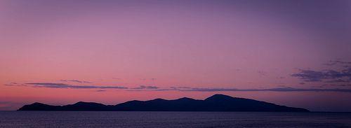Kapiti Island - sunset