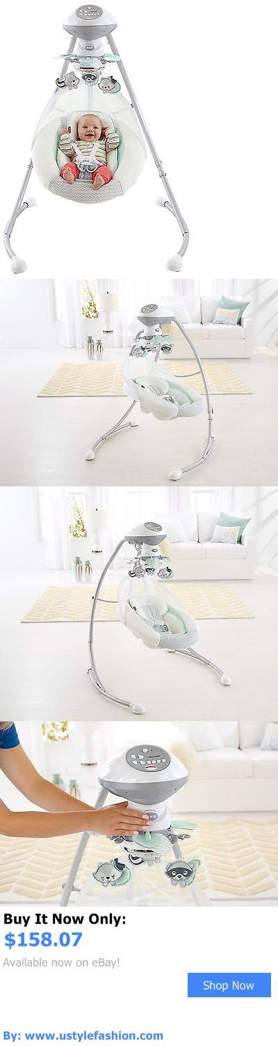 Baby swings: Fisher-Price Moonlight Meadow Cradle N Swing BUY IT NOW ONLY: $158.07 #ustylefashionBabyswings OR #ustylefashion