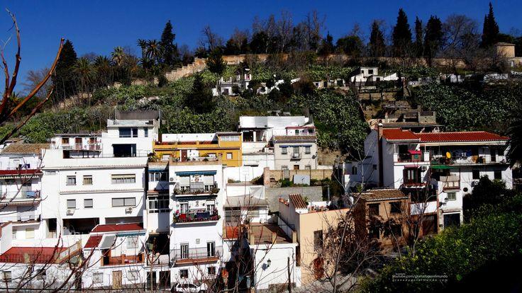 GRANADA | CENTRO | Casas del Barranco del Abogado. Camino Nuevo del Cementerio.