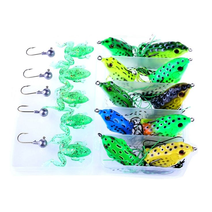 16.49$  Watch now - http://aligb5.shopchina.info/go.php?t=32777336580 - New Brand 20Pcs/Set 5g/8g/12g Artificial Lifelike Soft Plastic Fishing Frog Lure Bait Crank Bass Baits with Metal Lead Head Hook  #buymethat