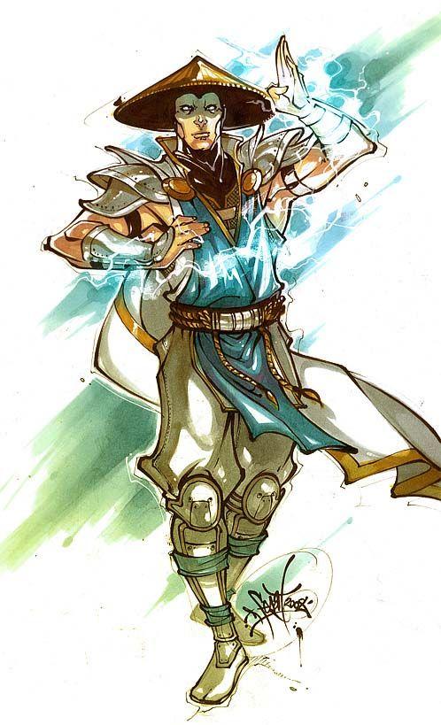 Mortal Kombat Raiden Drawings 49 best images about R...