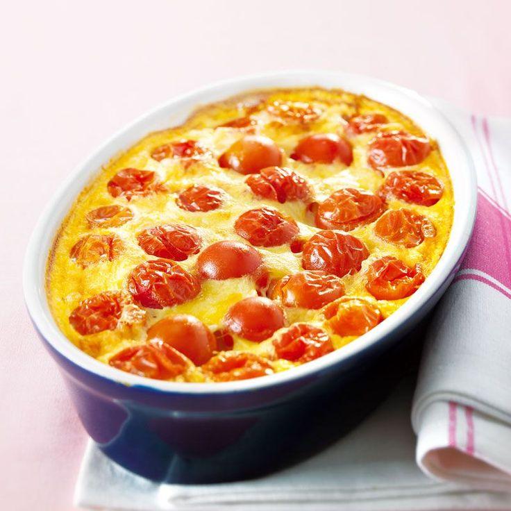 Clafoutis de tomate express Recette | Weight Watchers