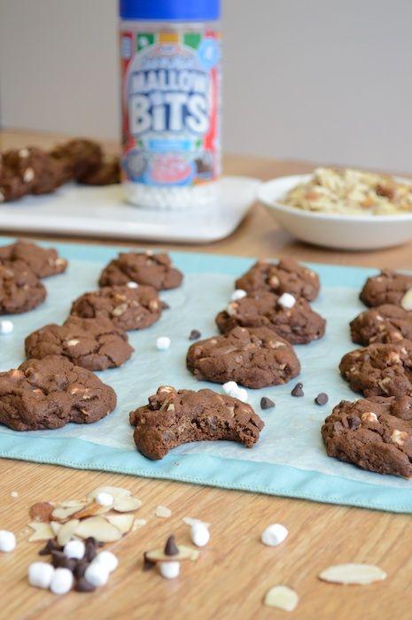 Mini Rocky Road Cookies 9