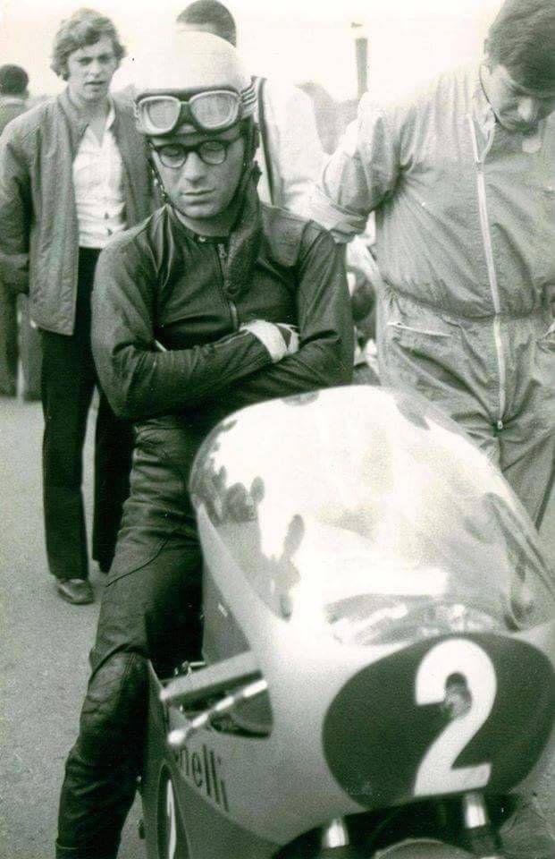 Renzo Pasolini Benelli 500 Sachsenring 1970