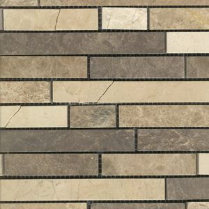 Product ID:MARTASSOCABL 12X12 Tasso Calais Blend Mosaic #Profiletile