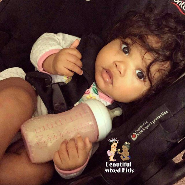 "15.6k Likes, 115 Comments - Beautiful Mixed Kids (@beautifulmixedkids) on Instagram: ""Hayden Renee - 6 Months • African American & Native American ❤  FOLLOW @BEAUTIFULMIXEDKIDS…"""