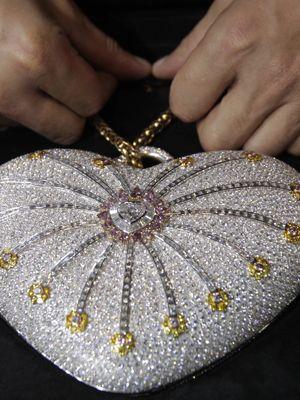 The Mouawad 1001 Nights Diamond Clutch $3,800,000.00 USD