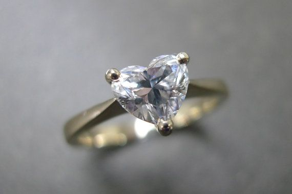 She. Would. Die. #ValentinesDay #proposal Solitaire Diamond Engagement Ring in 18K Yellow by honngaijewelry