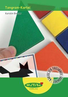 Mathe in der Grundschule: Tangram-Kartei in 4 Schwierigkeitsstufen