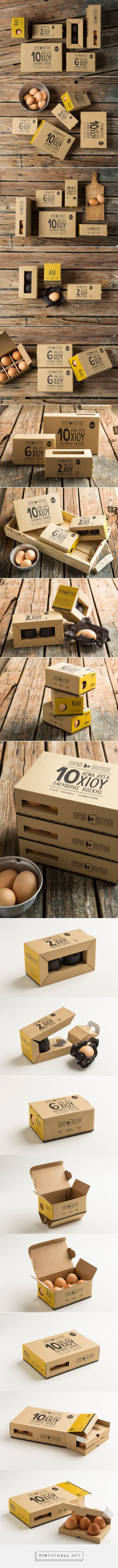Pafylida Farm Packaging Range / Egg Packaging by Maria Romanidou PD