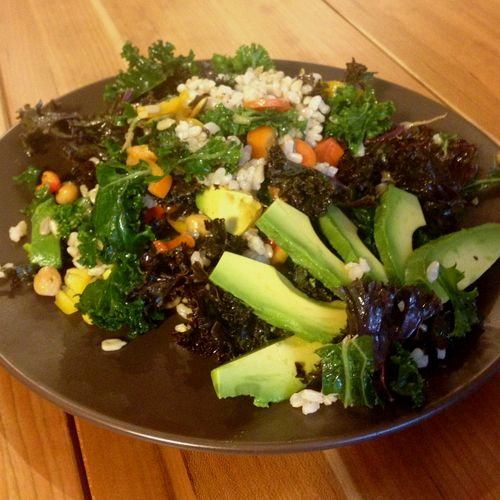 Super Kale Summer Salad