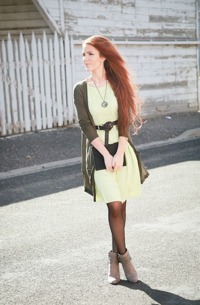 The Freckled Fox - A Hairstyle Blog What I Wore  Light -4378