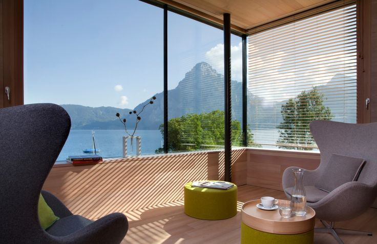 SEE 31, Ferienlofts am Traunsee – Ein modernes Ferienhaus und zwei große Ferienwohnungen bieten jeden Komfort und Luxus direkt am Traunsee im Salzkammergut.