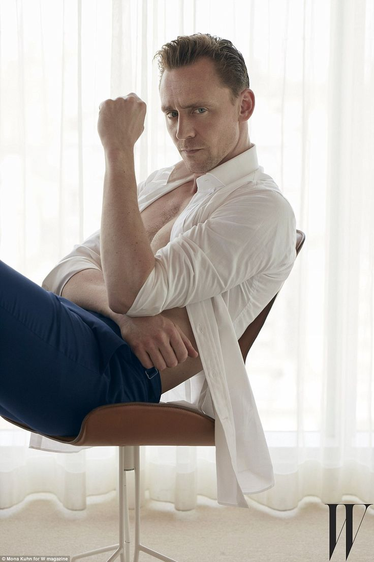 Feeling shocked: Tom, who stars in the British-American mini-series The Night Manager, admitted that he was surprised when they cut a shot of his naked bottom from the US telecast of the crime drama