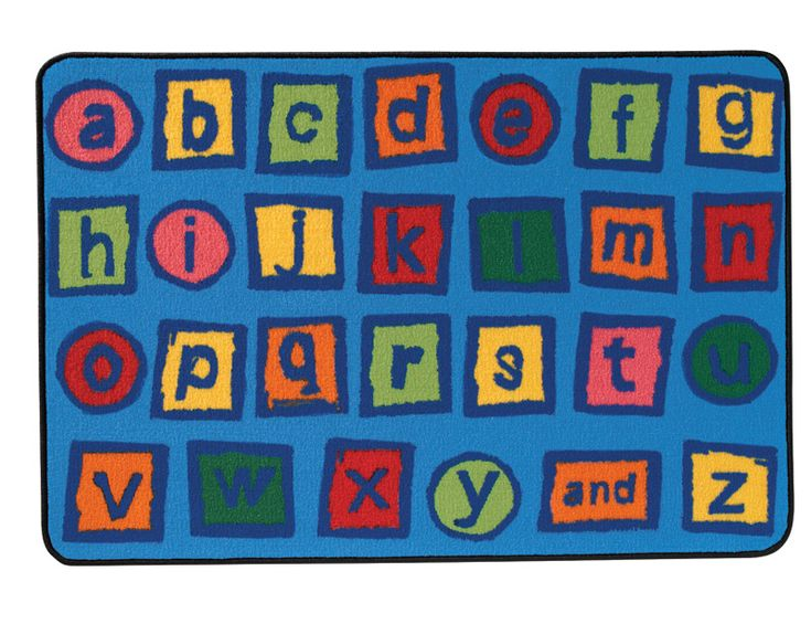 Alphabet Blocks With Great Colors And Kid Friendly Font