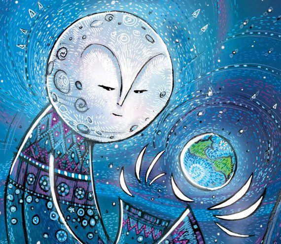 Moon Spirit Photo Matte Print by JamesScottShoemaker on Etsy