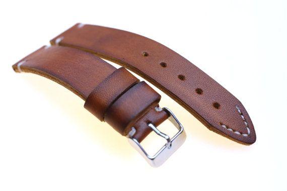 Rolex Milsub leather strap