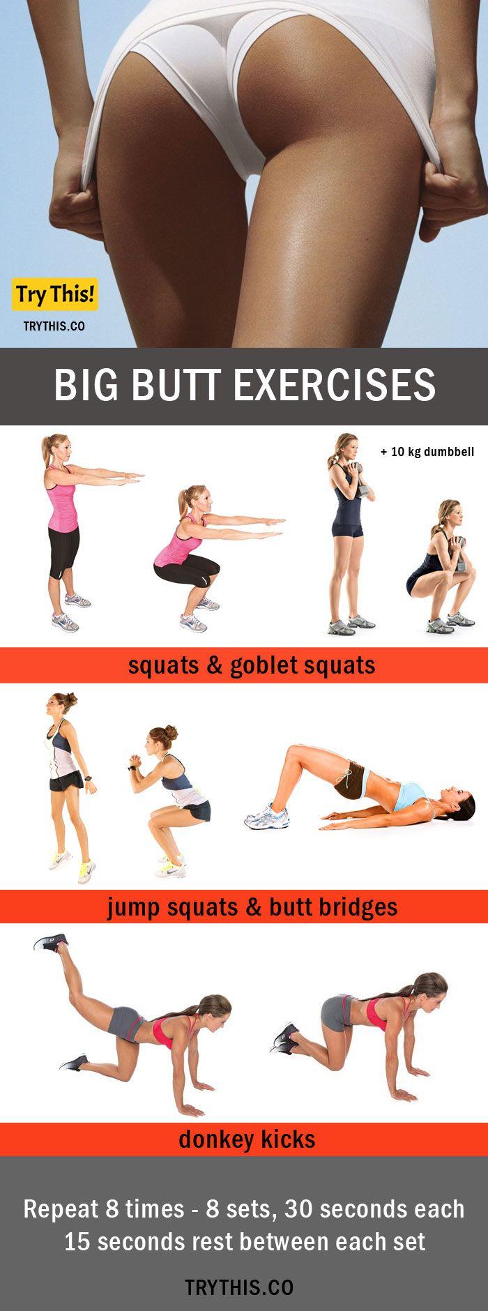butt Exercises For Bikini Body