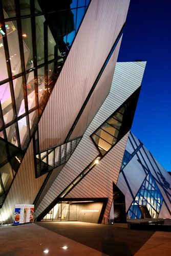 Royal Ontario Museum, Canada by Daniel Libeskind