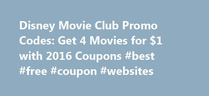Disney Movie Club Promo Codes: Get 4 Movies for $1 with 2016 Coupons #best #free #coupon #websites http://coupons.remmont.com/disney-movie-club-promo-codes-get-4-movies-for-1-with-2016-coupons-best-free-coupon-websites/  #movie coupons # Disney Movie Club Coupon Codes RMNHelp: Hello! You will be able to enter this code at the top of the Disney Movie Club Page. In the blue banner, you Showing 5 most recent comments Hello! You will be able to enter this code at the top of the Disney Movie Club…