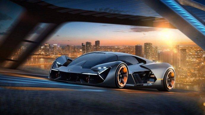 ランボルギーニがボディにバッテリーを組み込んだTerzo Millennio concept発表エレクトリック軽量空力を追求