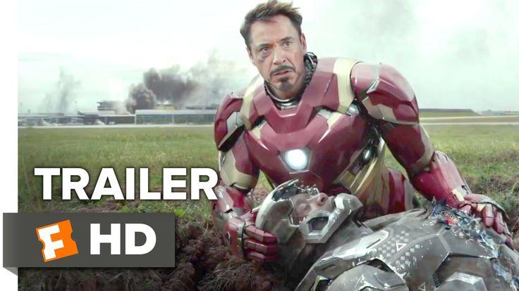 The Civil War Begins. Captain America & Iron Man face off in #CaptainAmericaCivilWar trailer