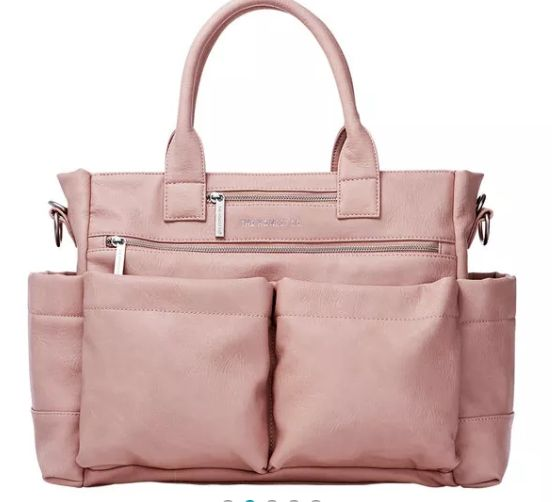 Honest Company stylish diaper bag