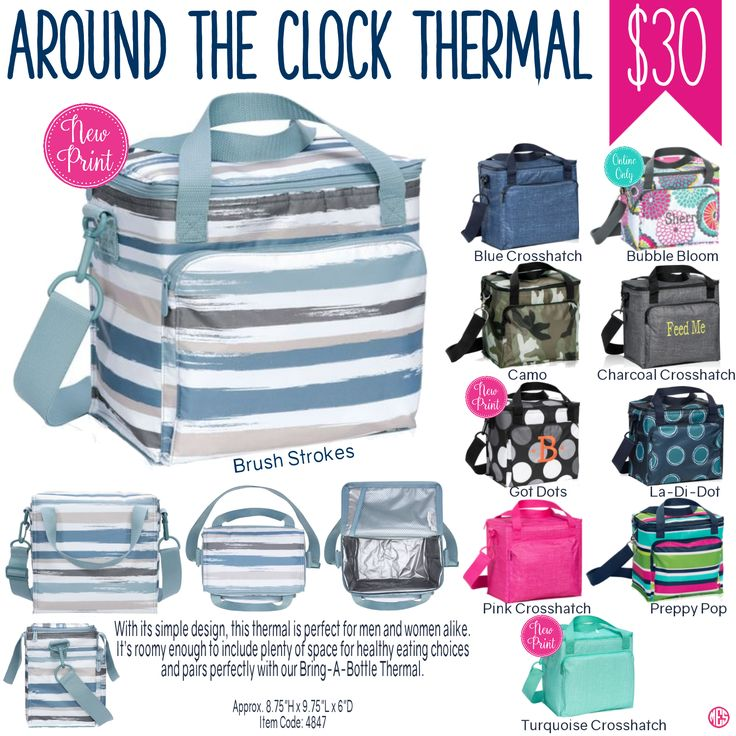 Thirty-One Around the Clock Thermal Spring/Summer 2017