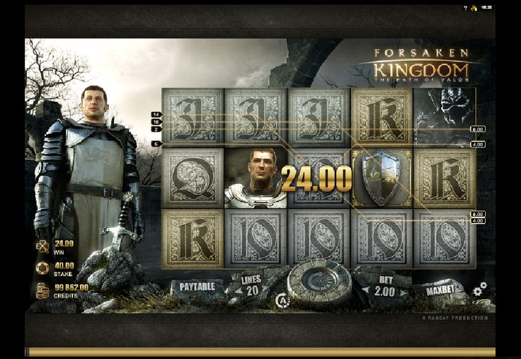 Automatové hry Forsaken Kingdom zadarmo - Vychutnajte si povzbudenie od kráľa Artuša v automatovej hre Forsaken Kingdom zadarmo. #HracieAutomaty #VyherneAutomaty #AutomatoveHry #Jackpot #Vyhra #Forsaken #Kingdom