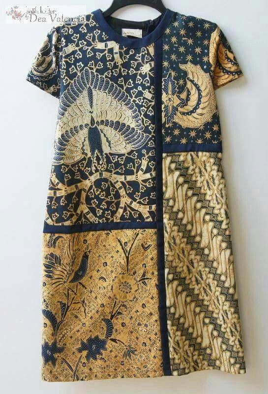 Batik aka YSL's Mondrian panel dress