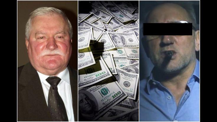 Lech Wałęsa wziął 150 000 dolarów  od MAFII ?!