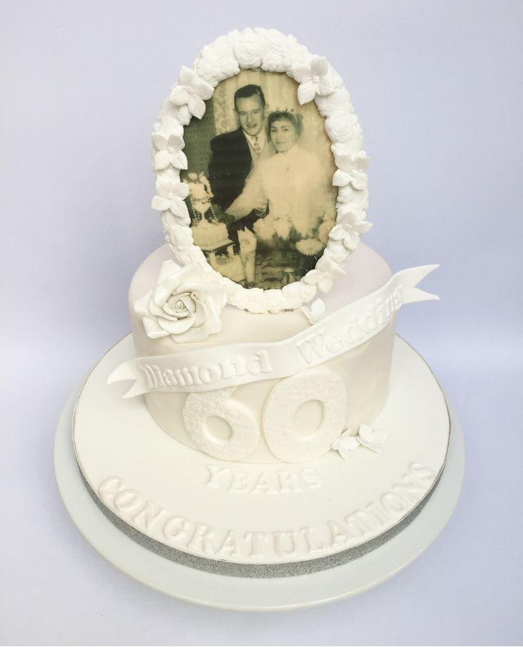 Diamond Wedding Anniversary By Olivias Cake Boutique