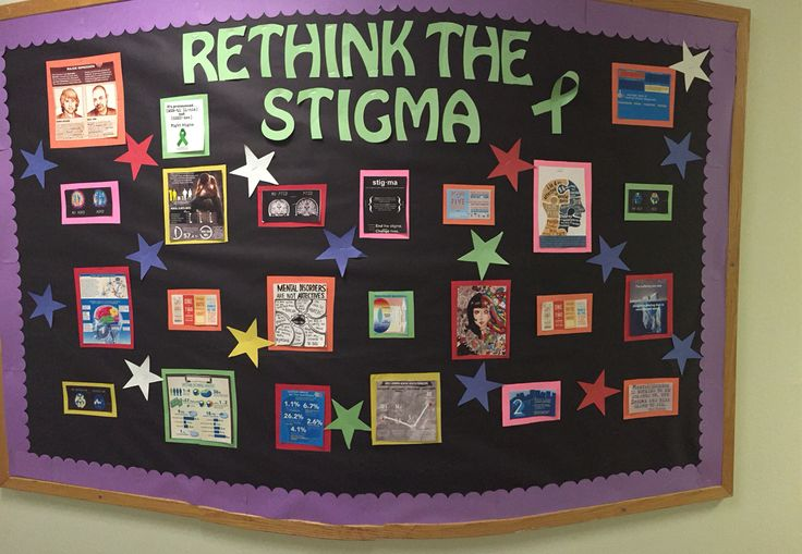 Fighting mental illness 1 bulletin board at a time