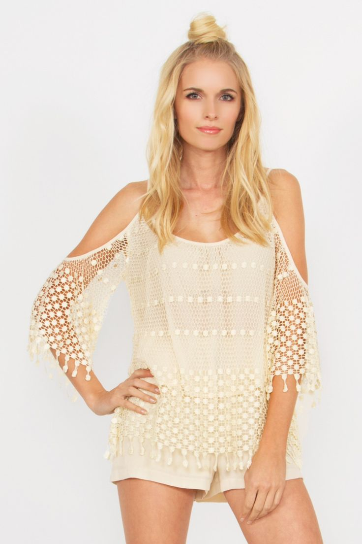 WE ALL THE FREE BOHO CROCHET TOP  http://bit.ly/1BuJVkU www.Hipsterdolly.com