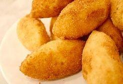 Potato Cheese Balls / Crochete de cartofi :: Romanian Food Recipes