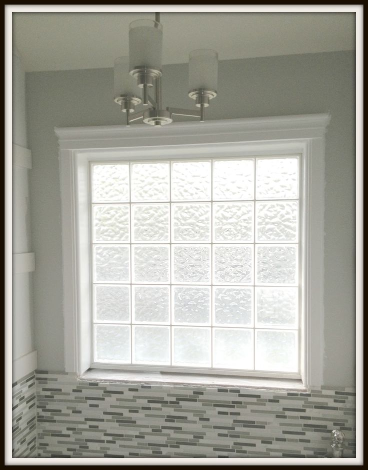 Engineering Life and Style: Framing a Glass Block Bathroom Window....A Super Easy DIY Project!!