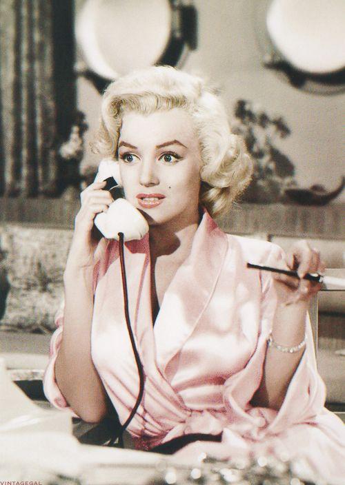 """Marilyn Monroe in """"Gentlemen Prefer Blondes"""" [1953]"""