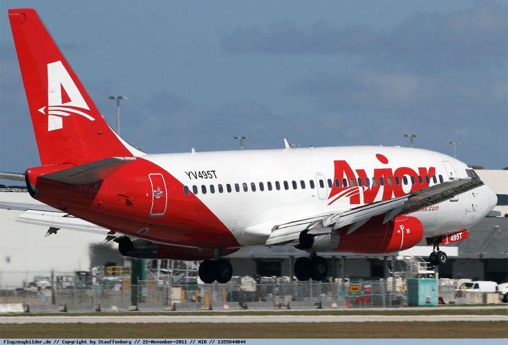 Fotos de Avior Airlines Boeing 737-2Y5 Adv. YV495T