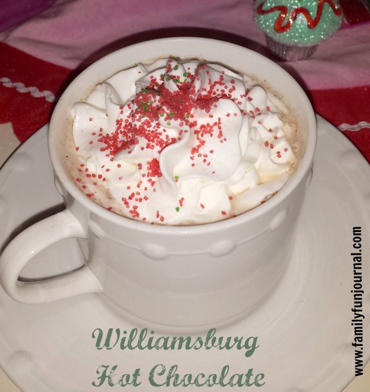 This is the best Williamsburg hot chocolate recipe. Put the mix together and store in a mason jar. You will love this unique blend of spices and cocoa.