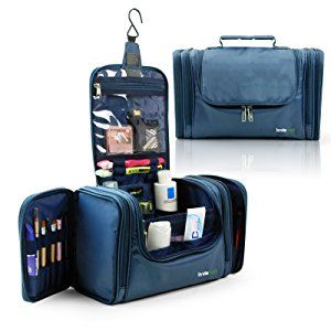 78d7fd81319 Amazon.com   Lavievert Toiletry Bag   Makeup Organizer   Cosmetic Bag   Portable  Travel Kit Organizer   Household Storage Pack   Bathroom Storage with ...
