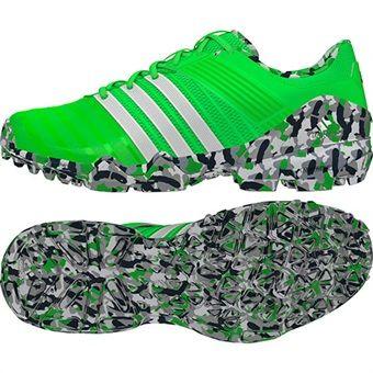 Adidas Adipower II Hockey Shoe Main Solar Green