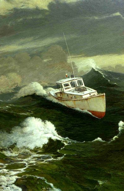 32 best maine lobster boats images on pinterest for Lobster fishing in maine